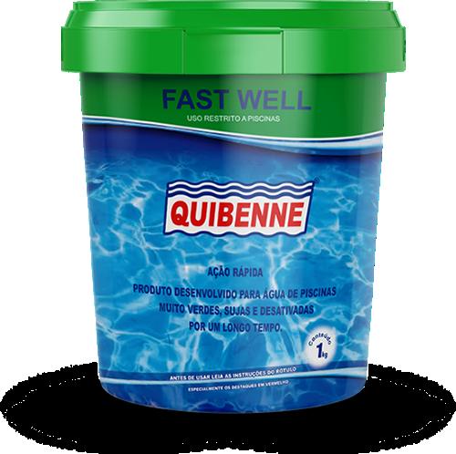 produto para piscina com água verde