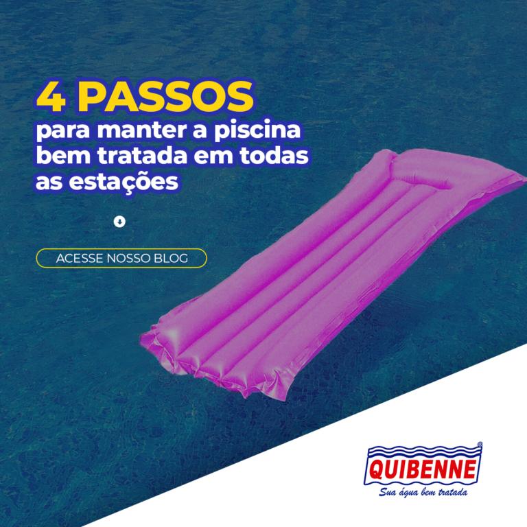 4 passos para manter a piscina bem tratada em todas as estações - Quibenne